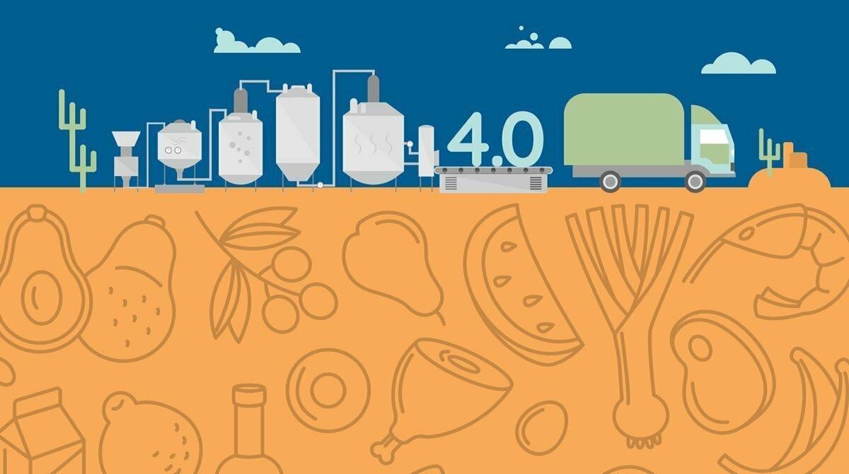 L'industrie 4.0 dans le secteur agroalimentaire